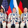 Expedition 54-55 backups Alexander Gerst of the European Space Agency, Sergey Prokopyev of Roscosmos, and Jeanette Epps of NASA.