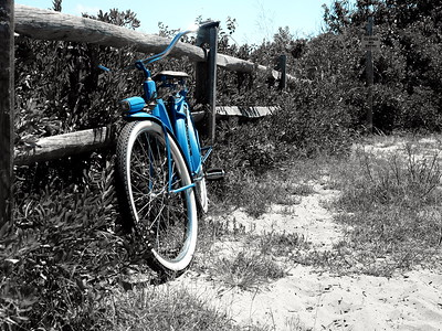 Resting on the Blue Trail