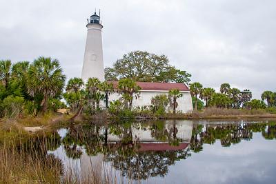 10672-Lighthouse - St. Mark's NWR, FL