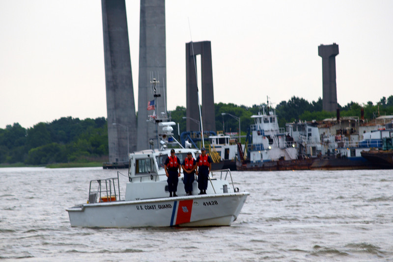 "Savannah River Coast Guard by Lora Mosier<br /> <br />  <a href=""http://www.burningriverboutique.com"">http://www.burningriverboutique.com</a>"