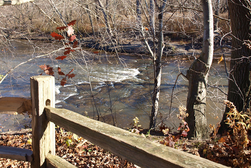 "Fence and River by Lora Mosier<br /> <br />  <a href=""http://www.burningriverboutique.com"">http://www.burningriverboutique.com</a>"