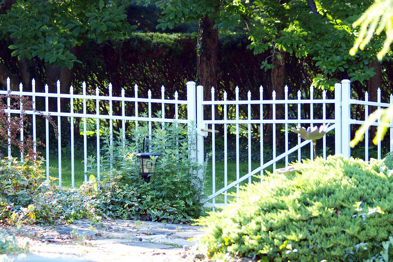 "The Garden Gate by Lora Mosier<br /> <br />  <a href=""http://www.burningriverboutique.com"">http://www.burningriverboutique.com</a>"