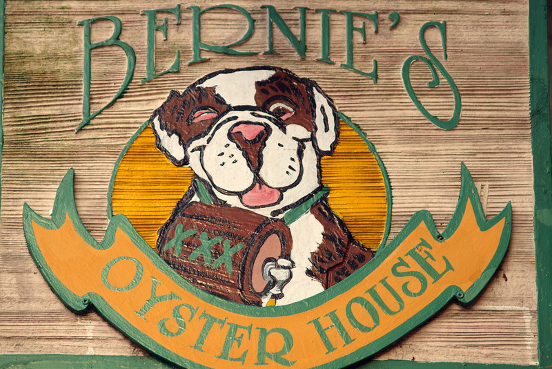 "Bernie's Oyster House by Lora Mosier<br /> <br />  <a href=""http://www.burningriverboutique.com"">http://www.burningriverboutique.com</a>"