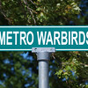 "Metro Warbirds Sign by Lora Mosier<br /> <br />  <a href=""http://www.burningriverboutique.com"">http://www.burningriverboutique.com</a>"