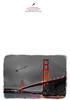 KW-124-Santa Over the Golden Gate Bridge