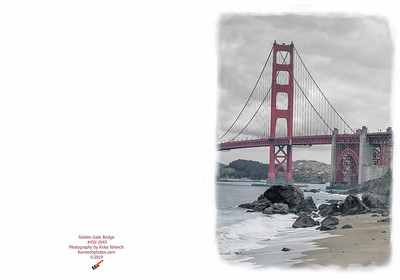 KW-2643P Golden Gate Bridge