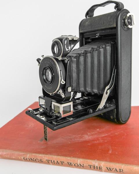 1917 Kodak No. 1A Autographic Special, Bausch & Lomb Tesar Series IIb f6.3