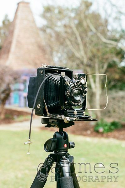1927 Zeiss Ikon Ideal 111 in action!