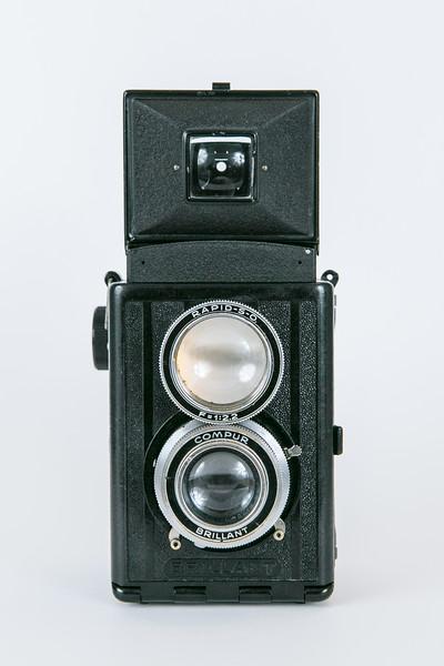 1938 Voigtländer V6 Focussing Brillant, Voigtar 7.5cm/f3.5