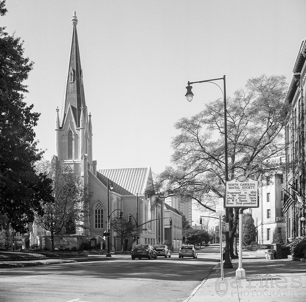 First Baptist Church, W Edenton St, Raleigh, North Carolina