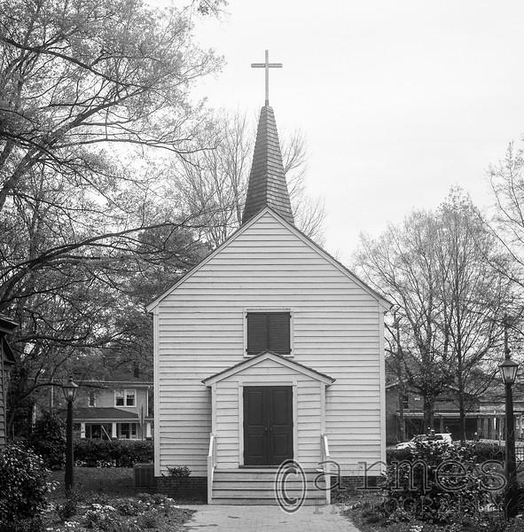 St Mark's Chapel, Mordecai Historic Park, Raleigh, North Carolina