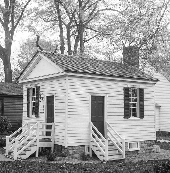 Badger Iredell Law Office, Mordecai Historic Park, Raleigh, North Carolina