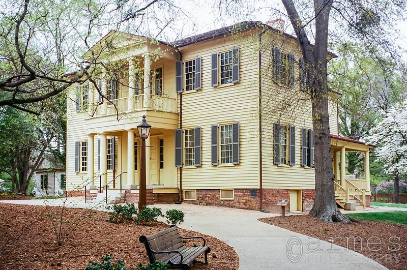 Mordecai House, Mordecai Historic Park, Mimosa St., Raleigh, North Carolina