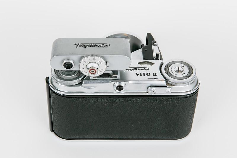 1954 Voigtländer Vito II with accessory rangefinder