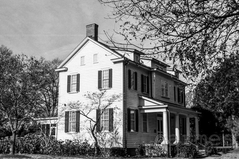 Spring Hill House, Dorothea Dix Park, Raleigh, North Carolina