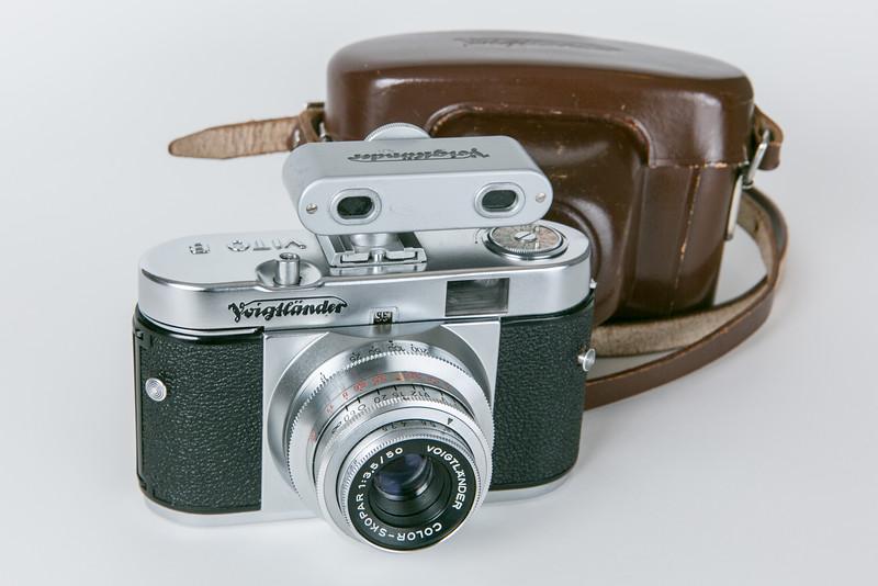1956 Voigtländer Vito B, Color-Skopar 50mm/f3.5 with Voigtländer accessory rangefinder