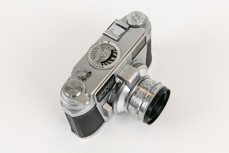 ~1960 Leidolf Wetzlar Unimark III, Lordonar 50mm/f2.8