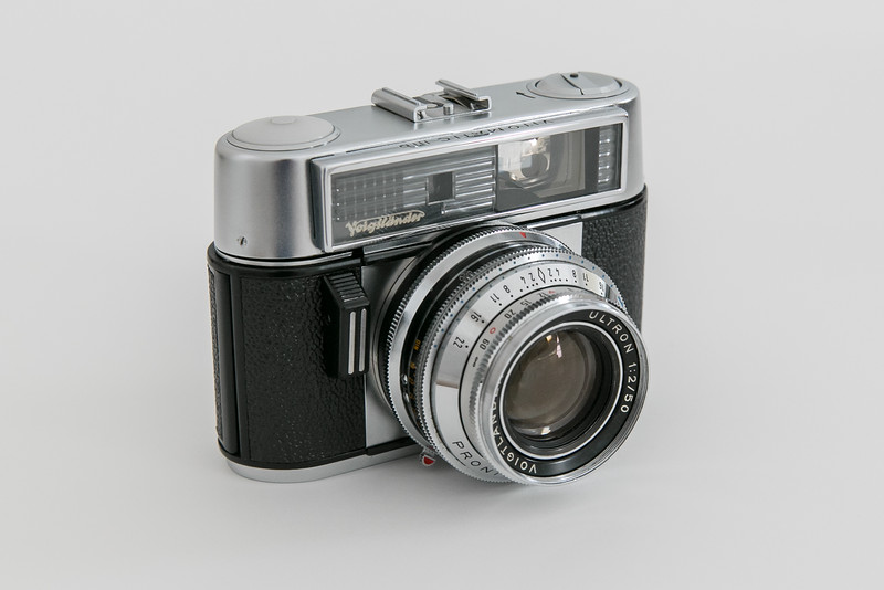 1965 Voigtländer Vitomatic IIIb, Ultron 50mm/f2