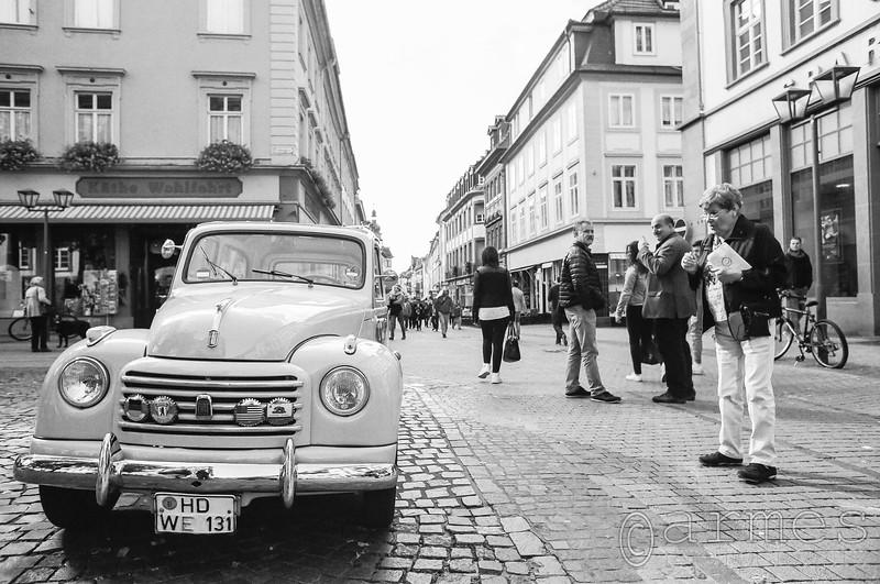 1953 Fiat 500 C, Heidelberg, Germany