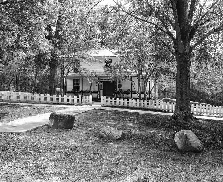 McCown-Mangum House, West Point on the Eno, Durham, North Carolina