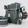 1975 Rapid Omega 100 with 120 film back & accessory eyepiece