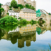 Burg Runkel & the Lahn River, Runkel, Hesse Germany