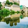 Burg Runkel & the Lahn River, Runkel, Hesse Germany
