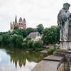 Limburger Dom & Lahn River, Limburg an der Lahn, Hesse, Germany