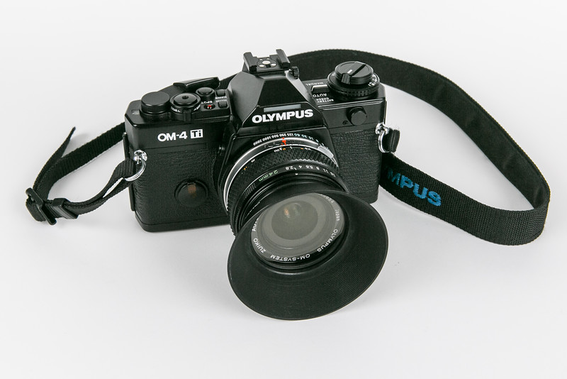 Olympus OM-4 Ti with Zuiko 24mm/f2.8 lens