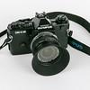 Olympus OM-4 Ti with Zuiko 24mm/f2.8 lens
