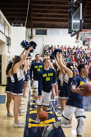 ND Basketball Varsity 2016