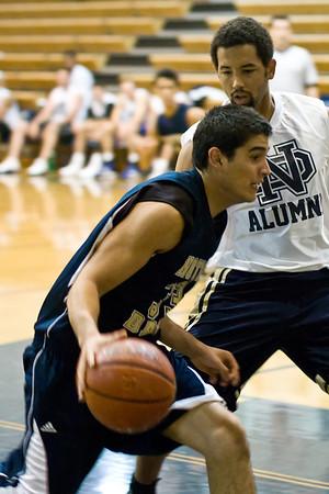 ND BB Alumni Game 2008