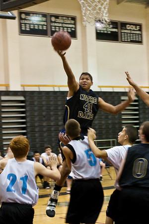 ND JV-Varsity Summer Basketball 2009