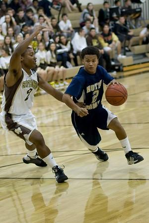 ND Varsity Basketball 2008