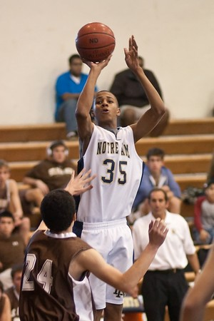 ND Freshman Basketball St. Francis