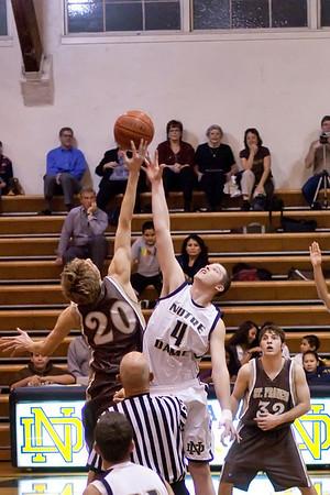 ND JV Basketball St. Francis