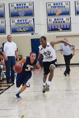 ND Basketball Alumni Game 2011