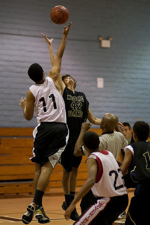 ND Basketball JV PreSeason 2010