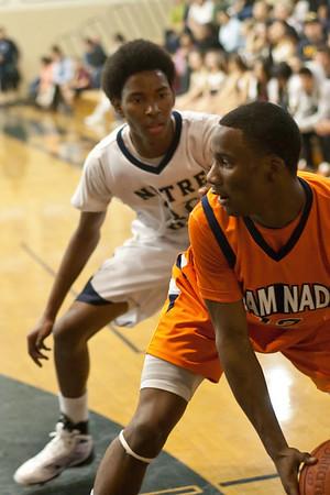 ND Basketball Varsity Chaminade