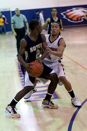 ND Basketball Varsity Chaminade 2