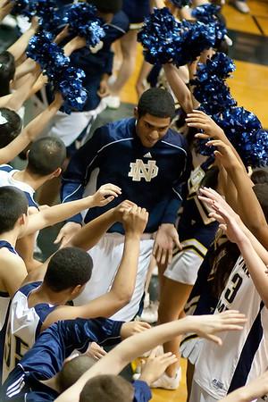 ND Varsity Basketball St. Francis