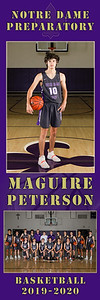 10 PETERSON 54 x 18 Banner