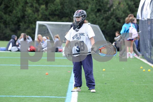 Notre Dame Prep Lacrosse Challenges McDonogh School April 2015