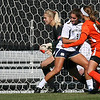 Notre Dame women's soccer vs. Miami; 5-0 win (goals by five different players...first goal 45 secs. after start of game)