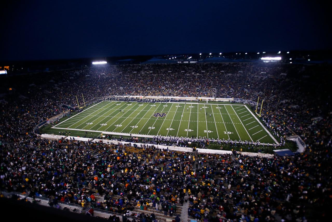 Notre Dame vs Northwestern