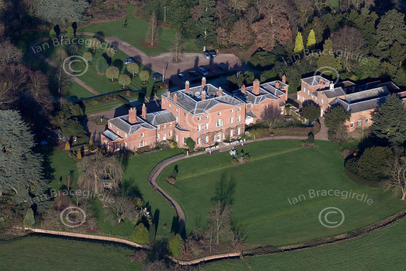Norwood Hall from the air.