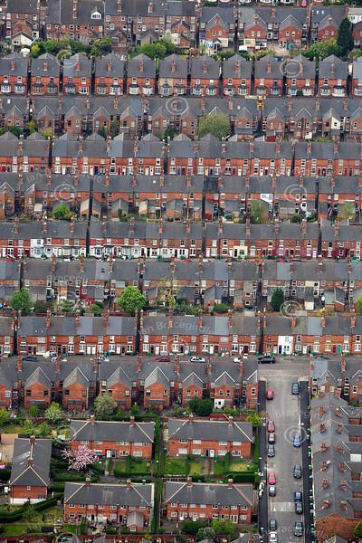Urban Housing from the air.