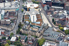 Aerial photo of Nottingham City Centre-283
