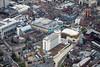 Aerial photo of Nottingham City Centre-285