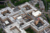 QMC in Nottingham from the air.